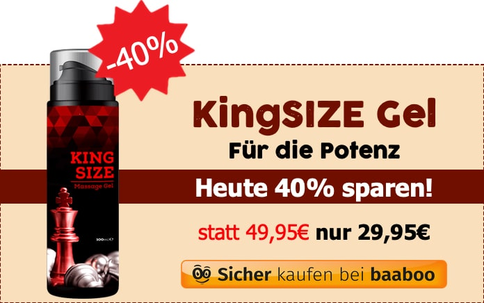 KingSIZE Gel 40% (Markt-Checker)