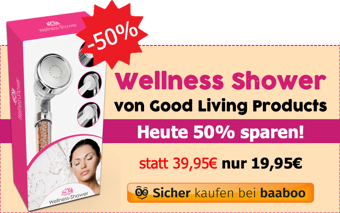 Wellness Shower 50% (Markt-Checker)