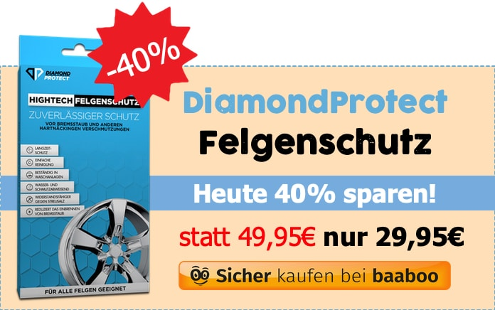 DiamondProtect Felgenschutz (Markt-Checker)