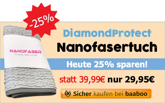 DiamondProtect Nanofasertuch (Markt-Checker)