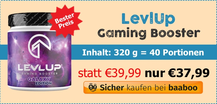 Levl Up Gaming Booster (MC) - baaboo