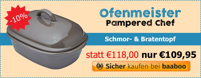 Pampered Chef Ofenmeister (MC) baaboo